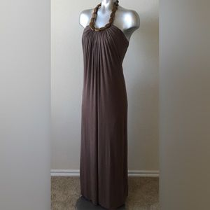 Wooden Necklace Maxi